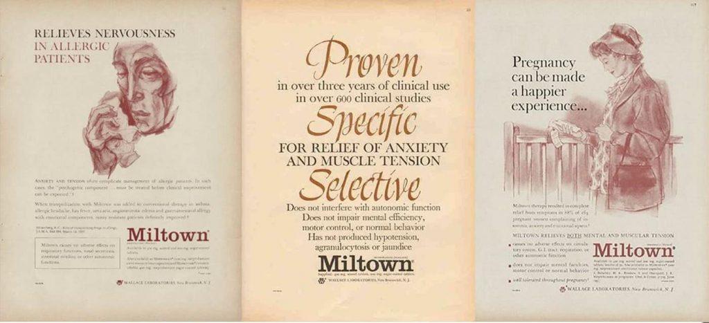 miltown: de moeder van de antidepressiva